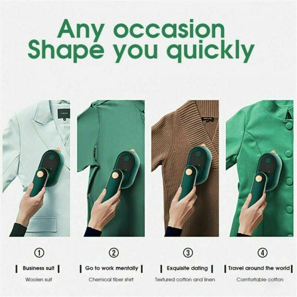Mini Handheld Portable Hanging Ironing Machine Clothes Shirts Garment Steamer New (9)