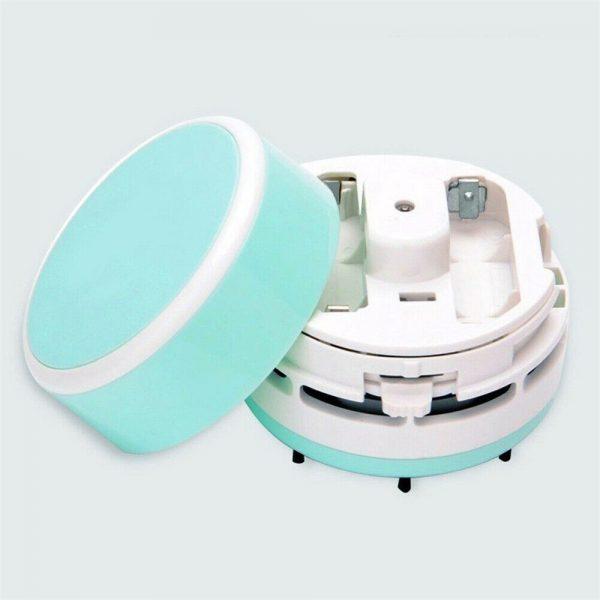 Mini Portable Vacuum Cleaner Dust Crumb Household Handheld Sweeper Desktop Cleaner (2)