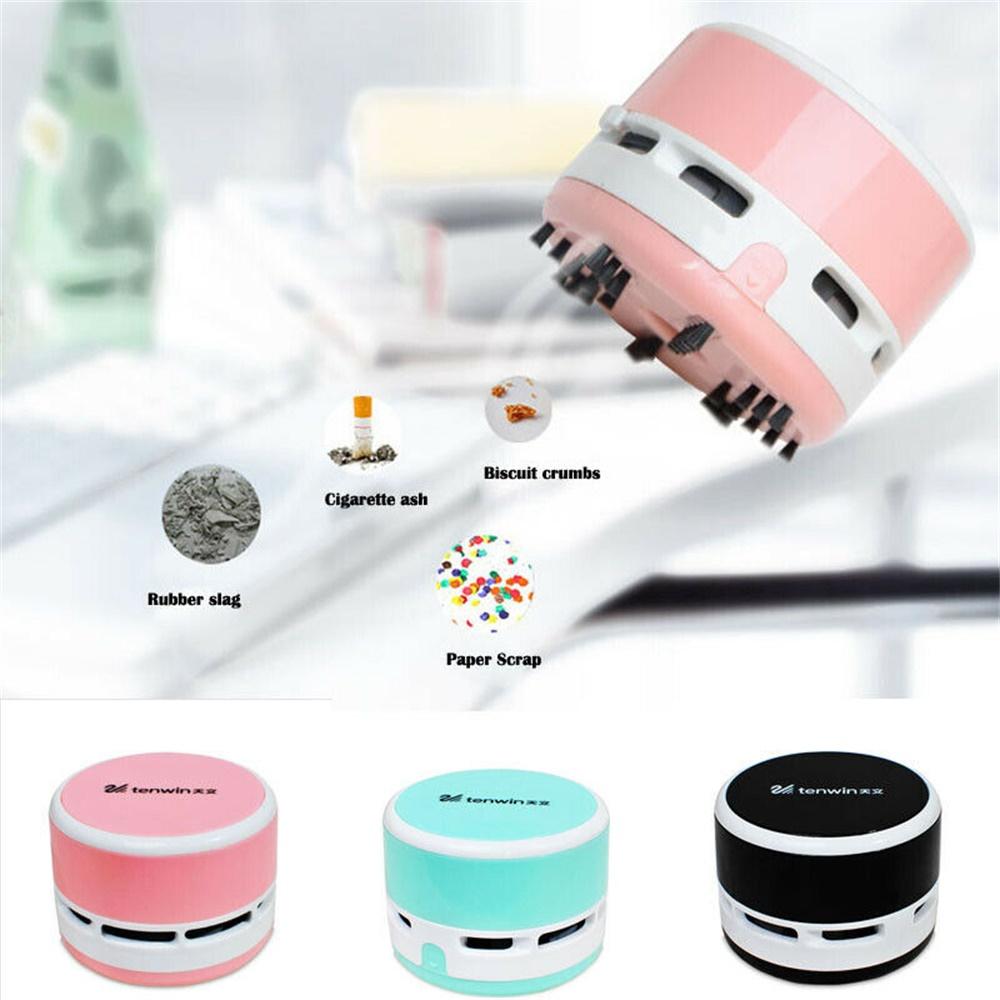 Mini Portable Vacuum Cleaner Dust Crumb Household Handheld Sweeper Desktop Cleaner (6)
