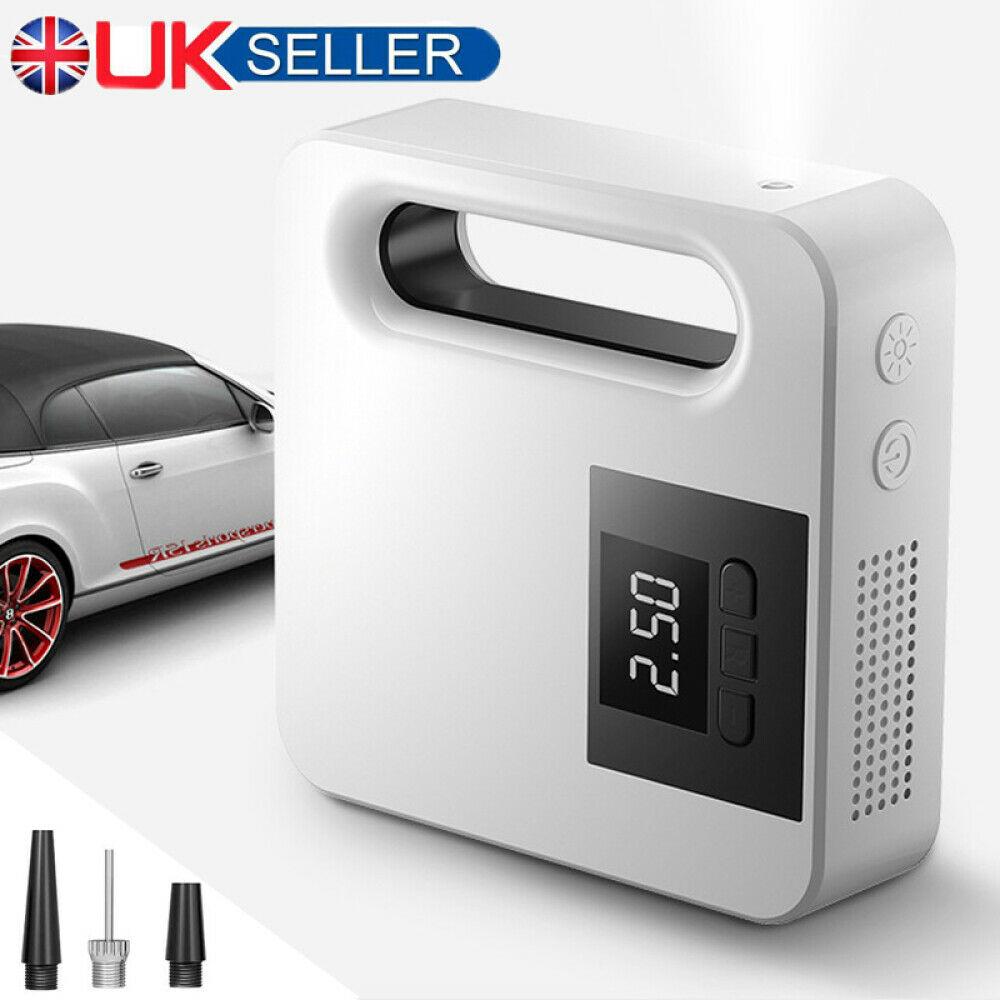Portable Car Air Pump Digital Display Digital Air Compressor Pump Lcd Display (1)