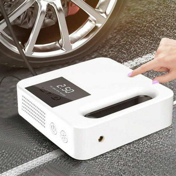 Portable Car Air Pump Digital Display Digital Air Compressor Pump Lcd Display (2)