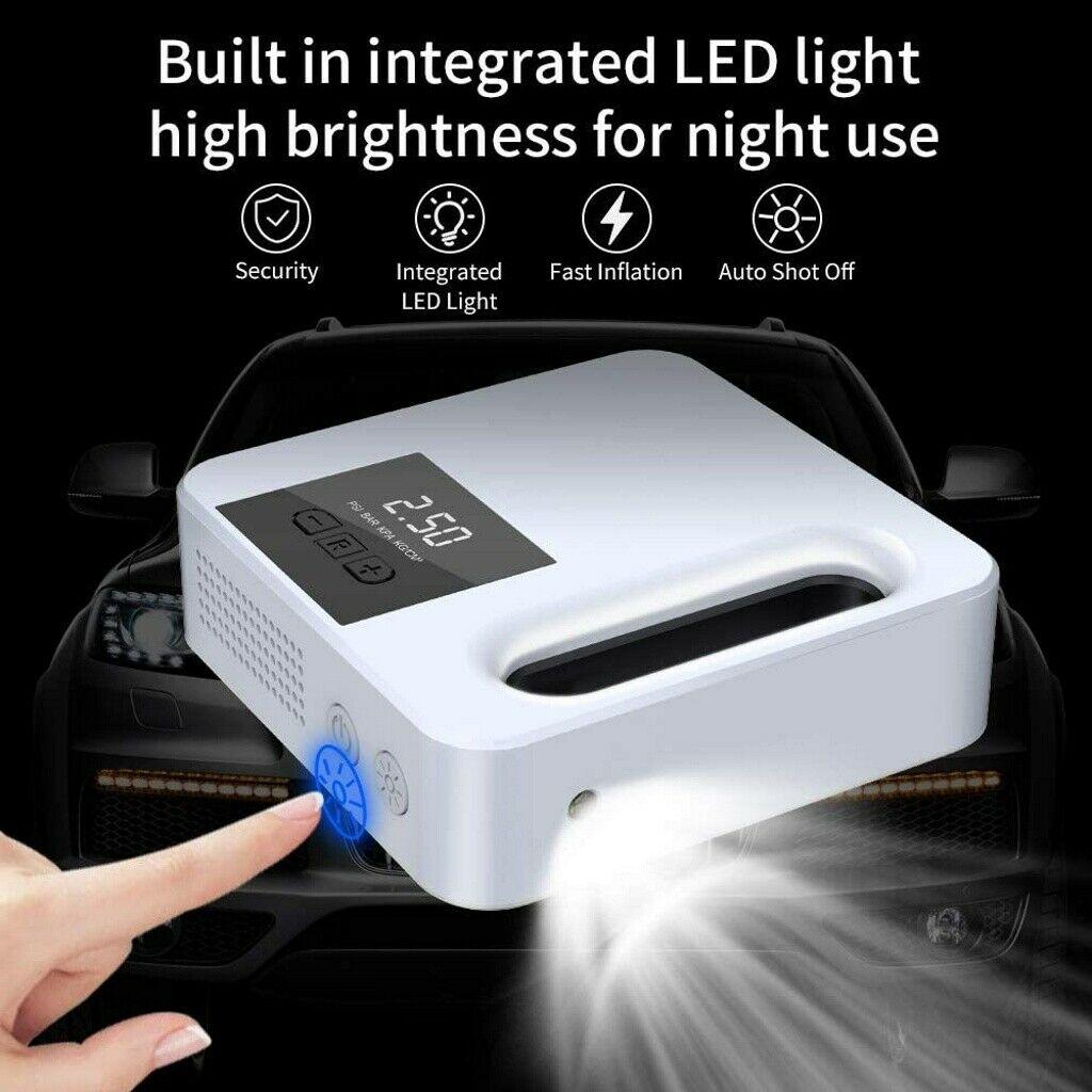 Portable Car Air Pump Digital Display Digital Air Compressor Pump Lcd Display (5)