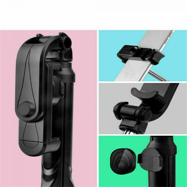 Tripod Selfie Stick Bluetooth Selfie Artifact Telescopic Selfie Stick For Iphone Android (1)