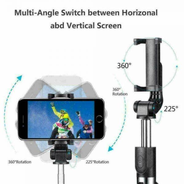 Tripod Selfie Stick Bluetooth Selfie Artifact Telescopic Selfie Stick For Iphone Android (3)