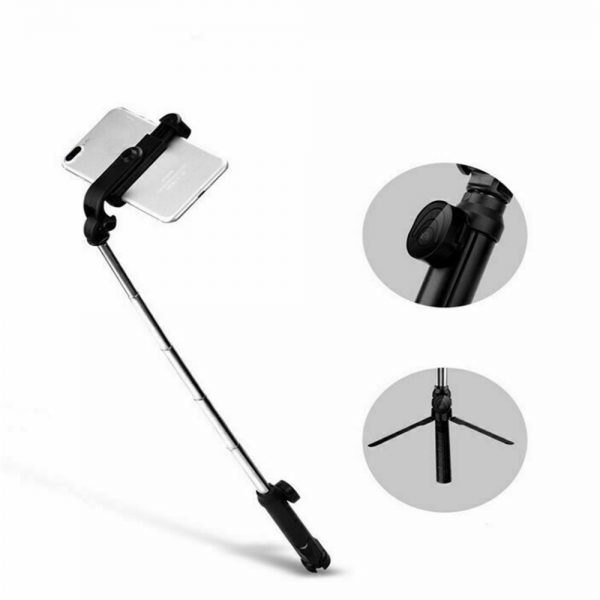 Tripod Selfie Stick Bluetooth Selfie Artifact Telescopic Selfie Stick For Iphone Android (4)