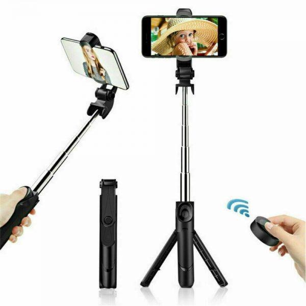 Tripod Selfie Stick Bluetooth Selfie Artifact Telescopic Selfie Stick For Iphone Android (6)