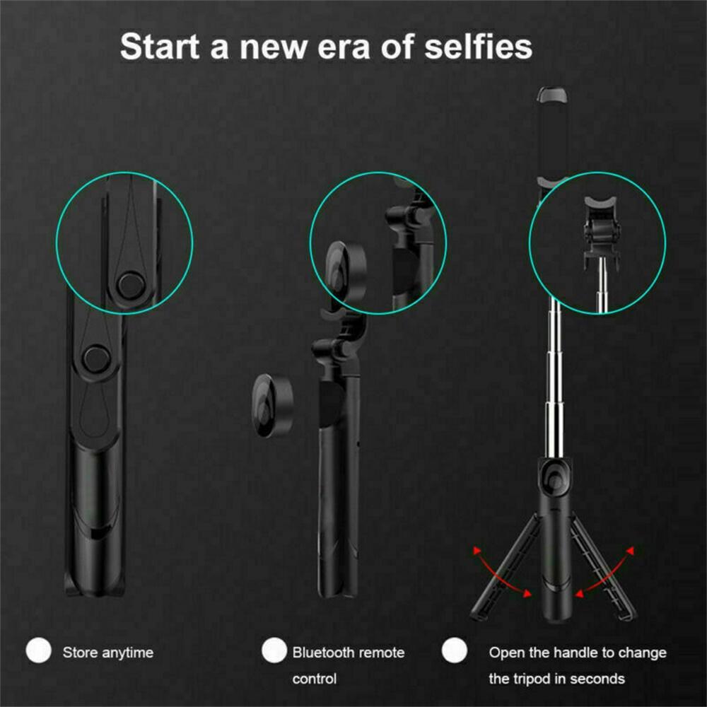 Tripod Selfie Stick Bluetooth Selfie Artifact Telescopic Selfie Stick For Iphone Android (8)