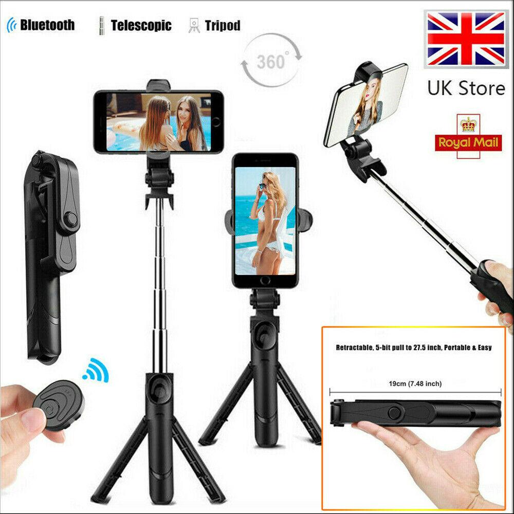 Tripod Selfie Stick Bluetooth Selfie Artifact Telescopic Selfie Stick For Iphone Android (9)