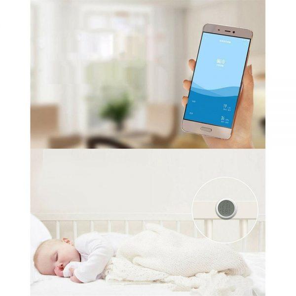 Wifi Tuya Smart Electronic App Temperature And Humidity Sensor Digital Display (11)