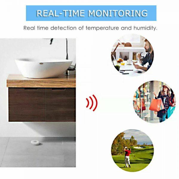 Wifi Tuya Smart Electronic App Temperature And Humidity Sensor Digital Display (3)