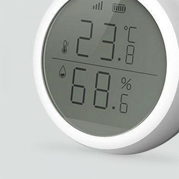 Wifi Tuya Smart Electronic App Temperature And Humidity Sensor Digital Display (4)