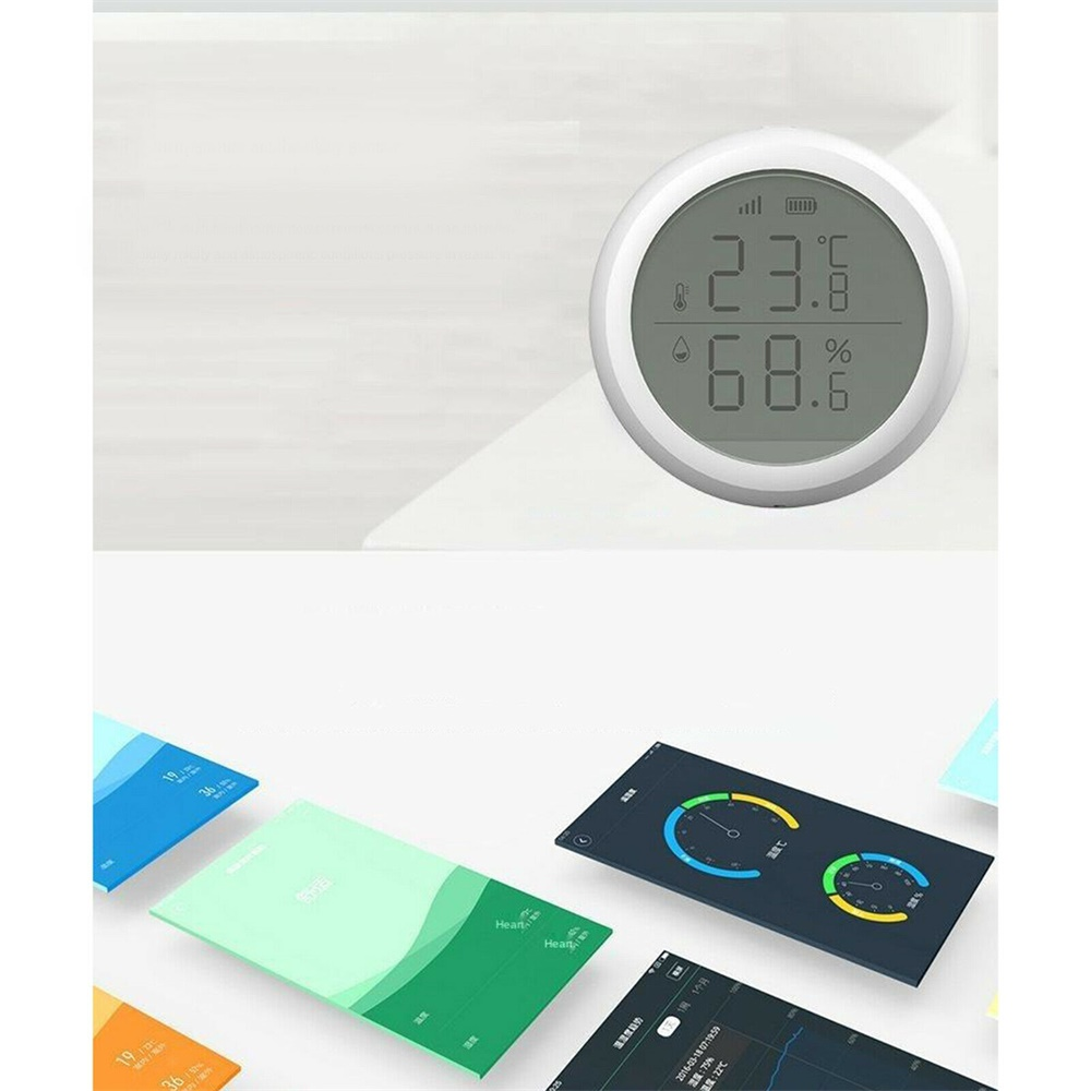 Wifi Tuya Smart Electronic App Temperature And Humidity Sensor Digital Display (6)