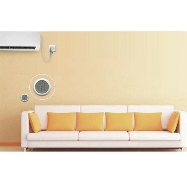 Wifi Tuya Smart Electronic App Temperature And Humidity Sensor Digital Display (8)