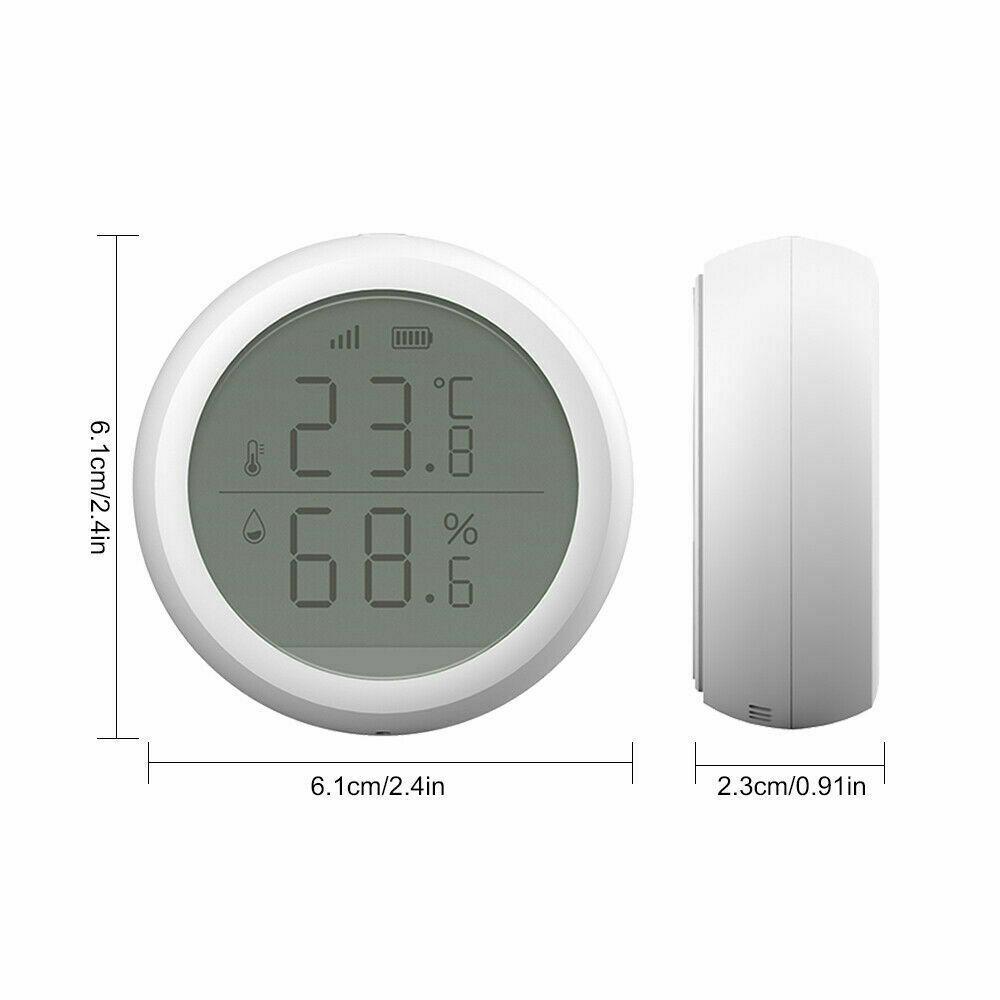 Wifi Tuya Smart Electronic App Temperature And Humidity Sensor Digital Display (9)